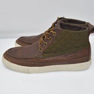 POLO Ralph Lauren TOMAS Sz 9D Brown Leather Boots